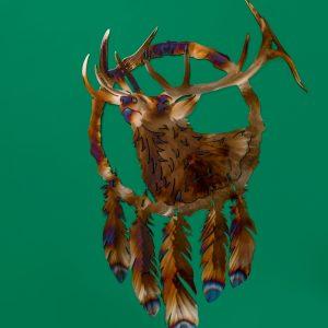 Elk dreamcatcher