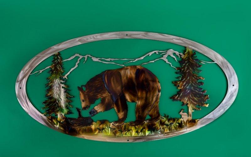 Oval bear