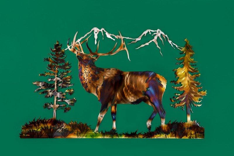 Majestic Elk Open Concept
