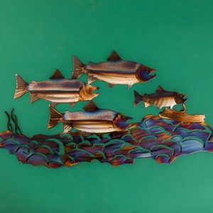 Steelhead Metal Art by Creative Iron Works